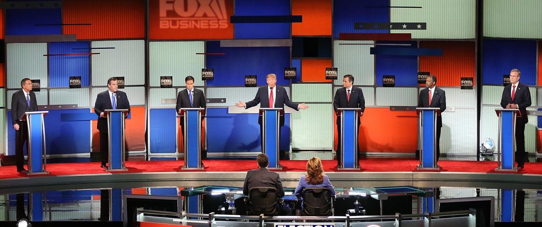 Image: GOP Presidential Candidates Debate In Charleston