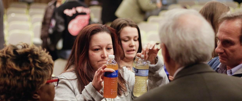 Image: Flint Water Crisis - 2015