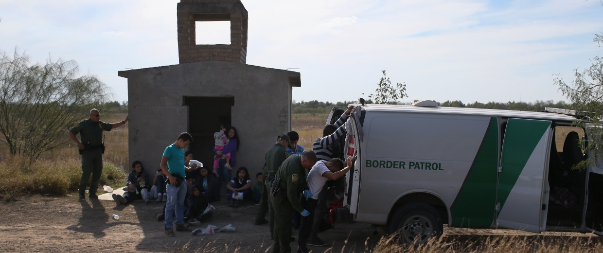 Image: Border Security Remains Key Issue In Presidential Campaigns