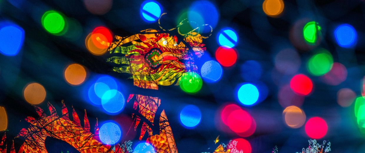 Image: Preview Of London's Chinese Lantern Festival