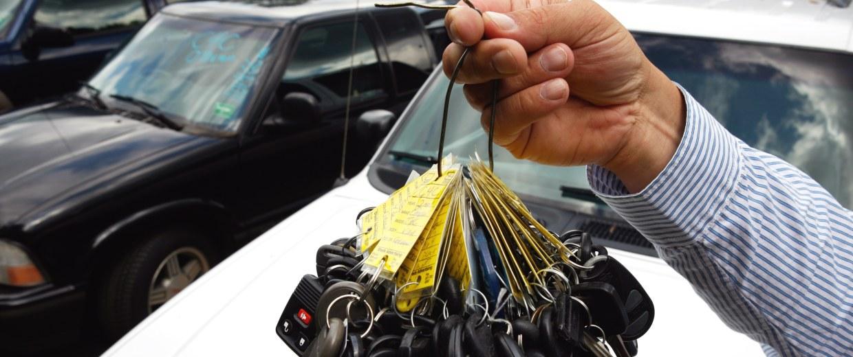 Image: car keys