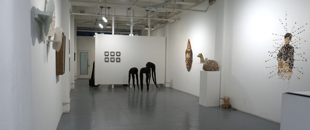 Image: Rush Arts Gallery featured the Button Show curated by Souleo