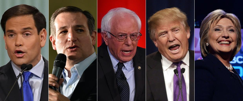 Image: COMBO-FILES-US-VOTE-REPUBLICANS-DEMOCRATS