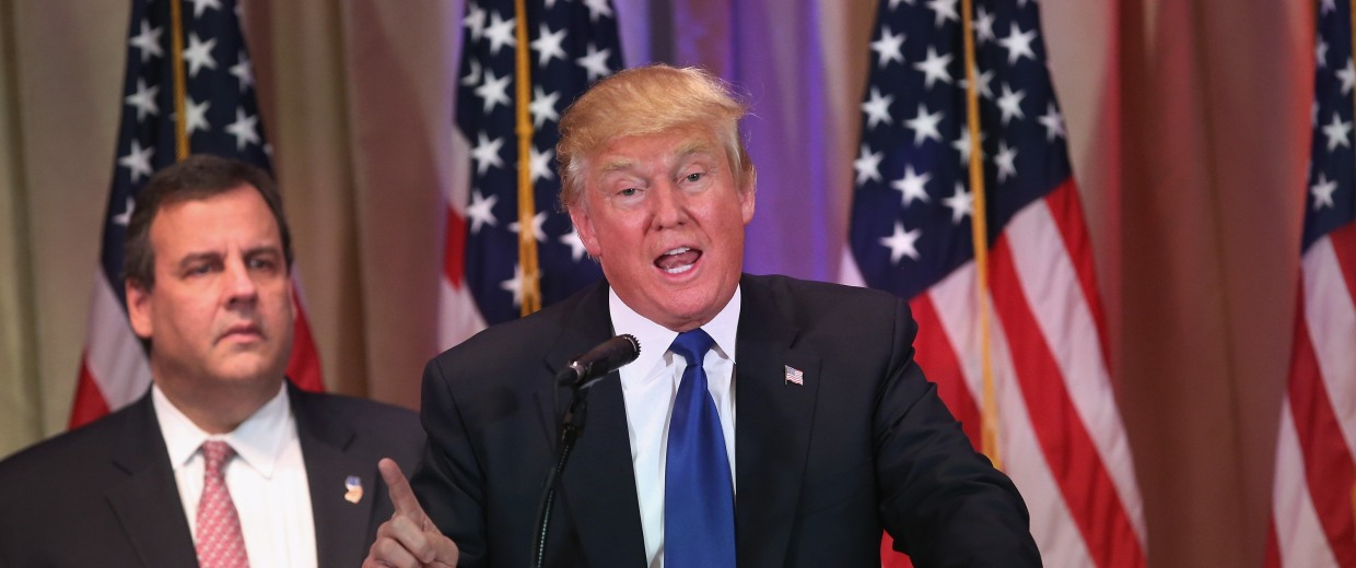 Image: Donald Trump Holds Super Tuesday Election Night Press Conf. In Palm Beach