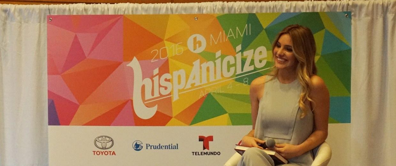 Worldwide Vine star Lele Pons at Hispanicize 2016.