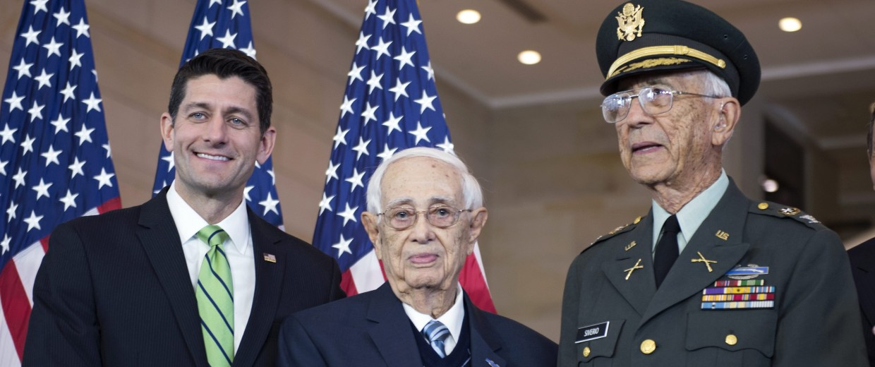 Image: Congressional Gold Medal Ceremony for US Army 65th Infantry Regiment Borinqueneers