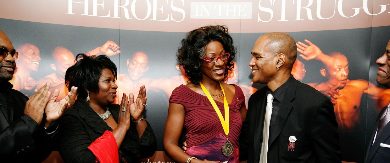 Image: 8th Annual Heroes In The Struggle Gala in 2008
