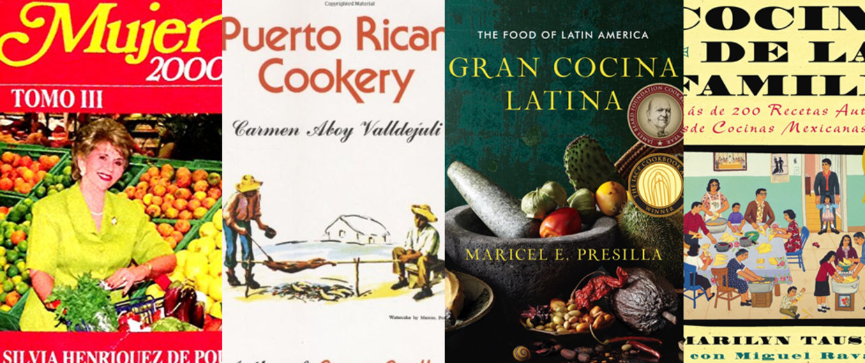 Collage of cookbooks your mom may like for Mother's Day.