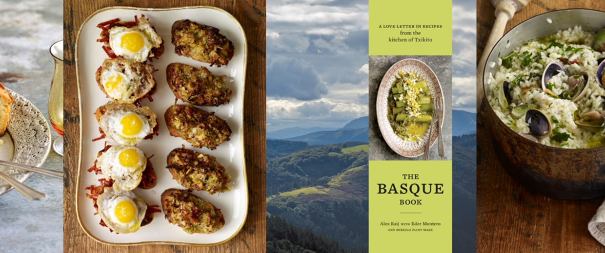 Photos of recipes in The Basque Book: A Love Letter in Recipes from the Kitchen of Txikito