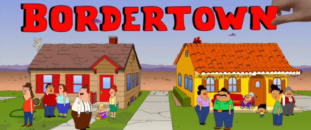 """Opening sequence for """"Bordertown."""""""