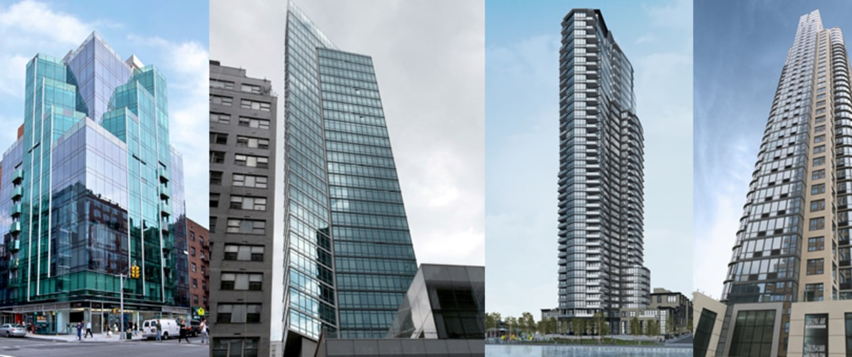Leyva Architecture, PC designed these buildings for New York City.