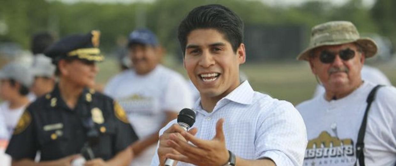 Rey Salda?a, City Councilman for San Antonio's 4th District