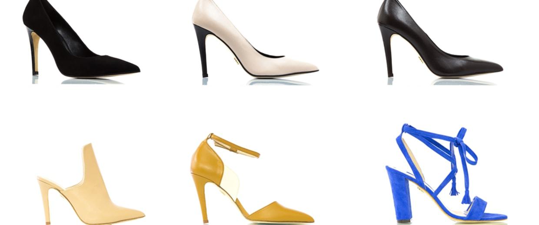 Shoes from Daniela and Roberta Nunez's David Isaac collection.
