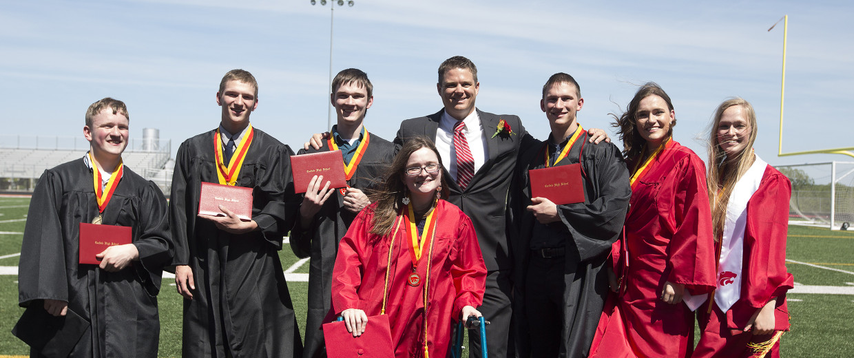 The McCaughey septuplets high school graduation