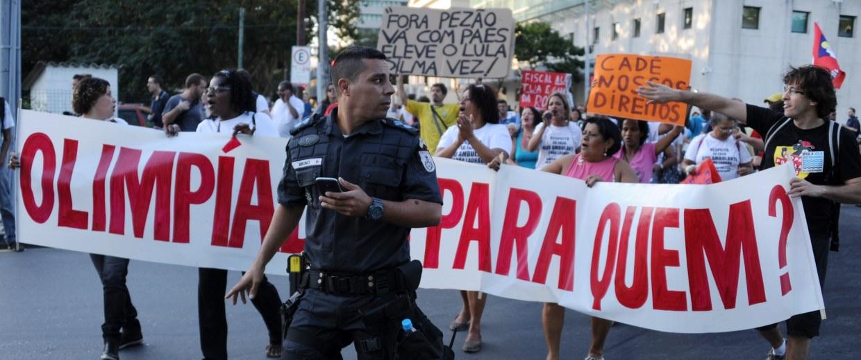 BRAZIL-OLY-2016-PROTEST
