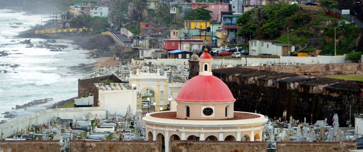 Old San Juan the original capital city of San Juan, Puerto Rico.