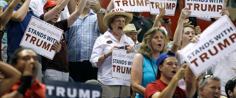 Image: Donald Trump Holds Campaign Rally In Phoenix, Arizona