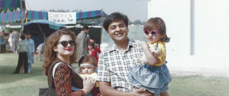 Minahil Khan, family
