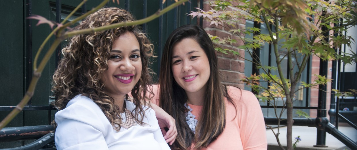 Marah Lidey and Naomi Hirabayashi, co-founders of the Shine app