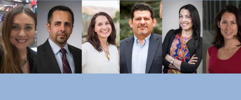 Composite photo of Latino professors.