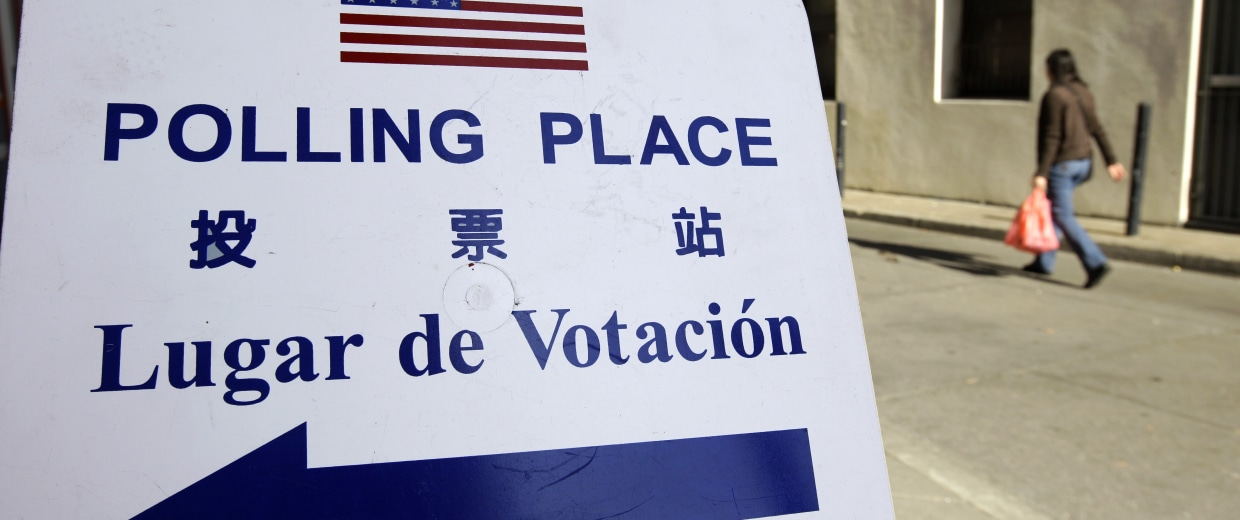Image: Chinatown Polling Place