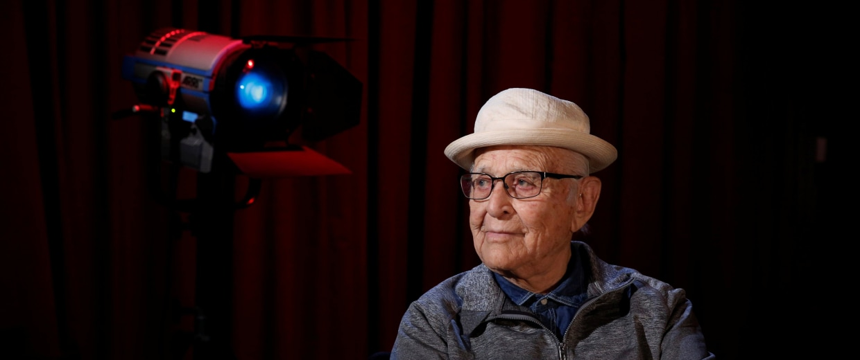 Image: Television producer Norman Lear poses for a portrait in New York