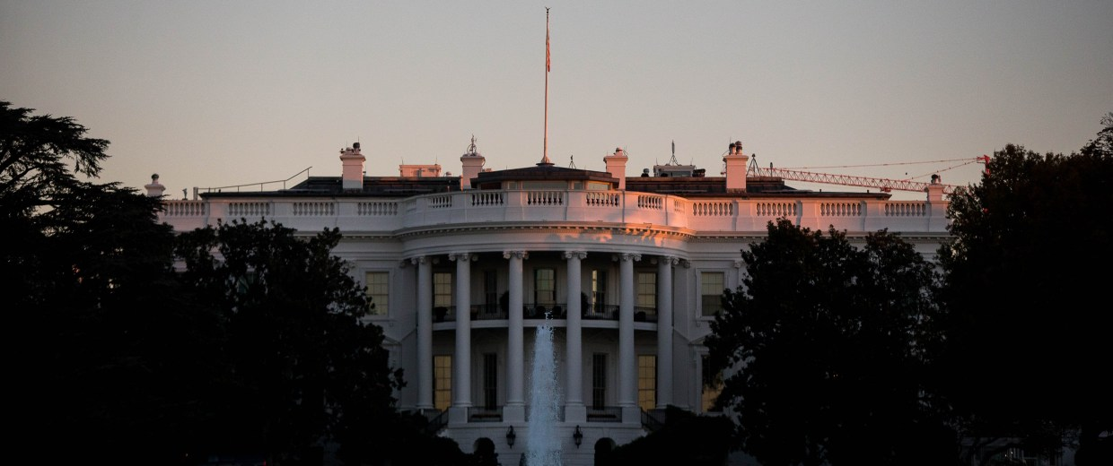 Image: The White House On Election Day