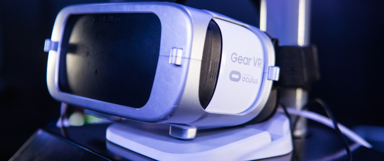 Image: A Samsung Gear VR headset