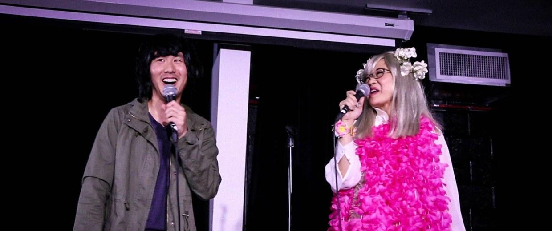 "Will Choi and Keiko Agena co-host ""Scarlett Johansson Presents: Opening Night of Doctor Strange"""