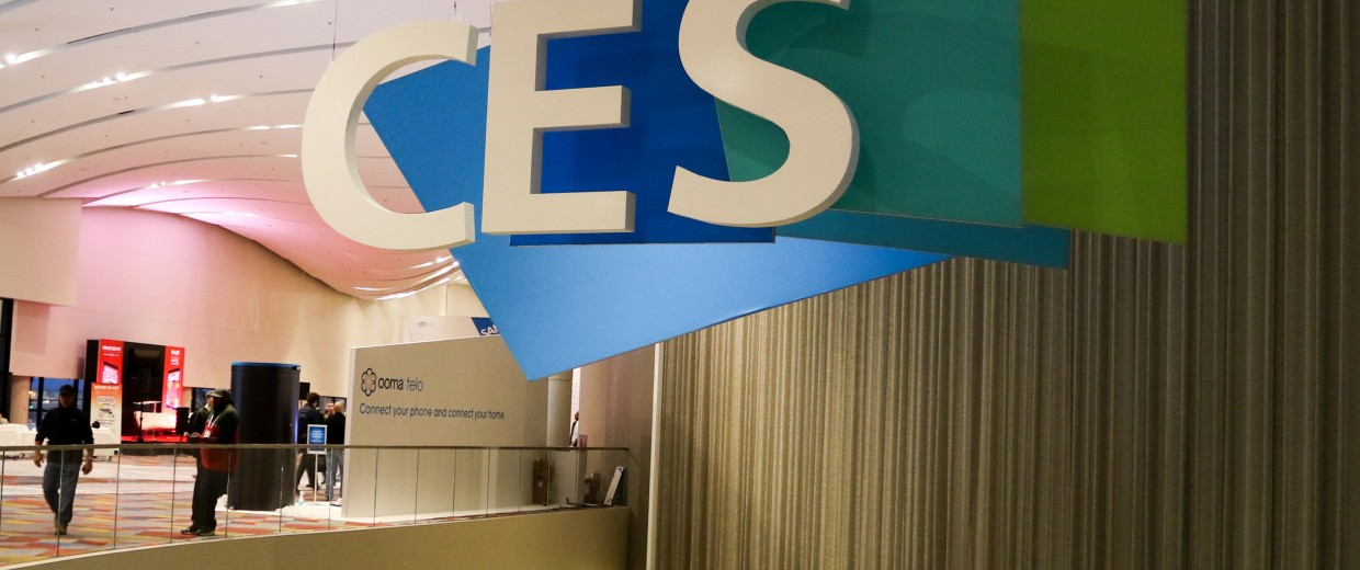 Image: The annual Consumer Electronics Show
