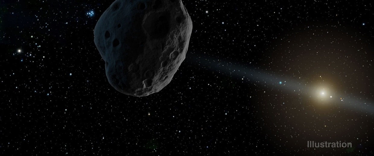 asteroid in space - photo #39
