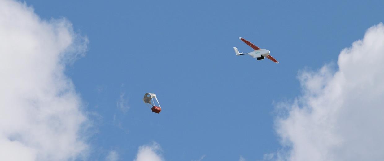 Image: Zipline drone
