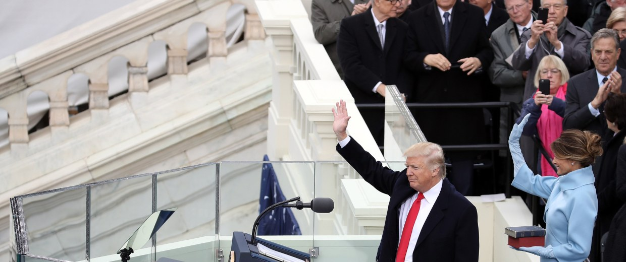 Image: Donald Trump Is Sworn In As 45th President Of The United States