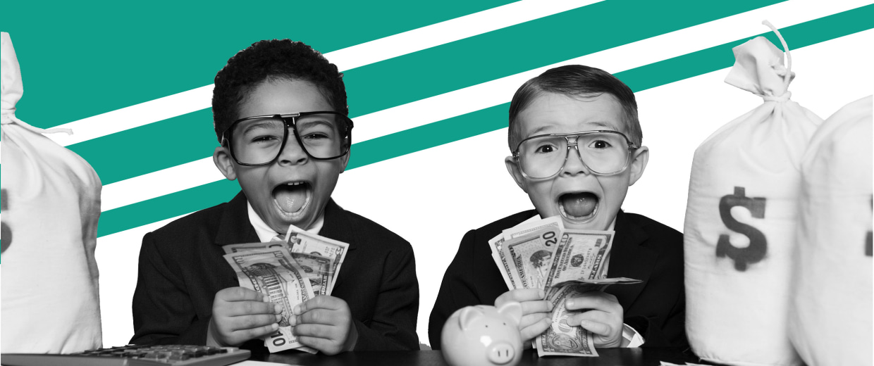 Image: When it comes to money, I think there are some things that kids--particularly young kids--aren't ready to process and, frankly, don't need to know.