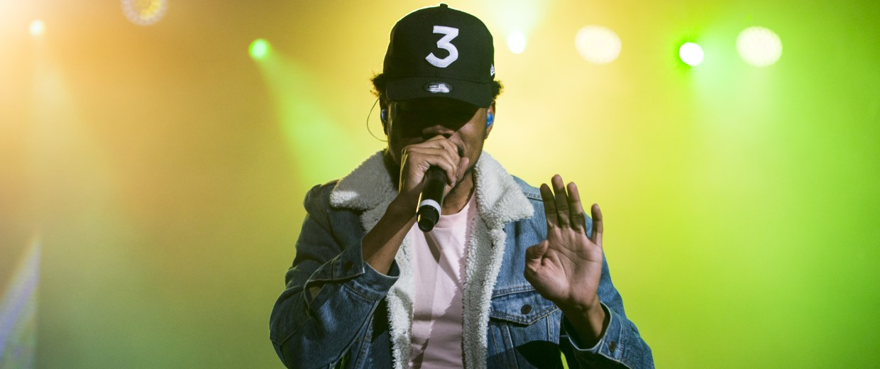 Chance the Rapper performs at Eagle Bank Arena