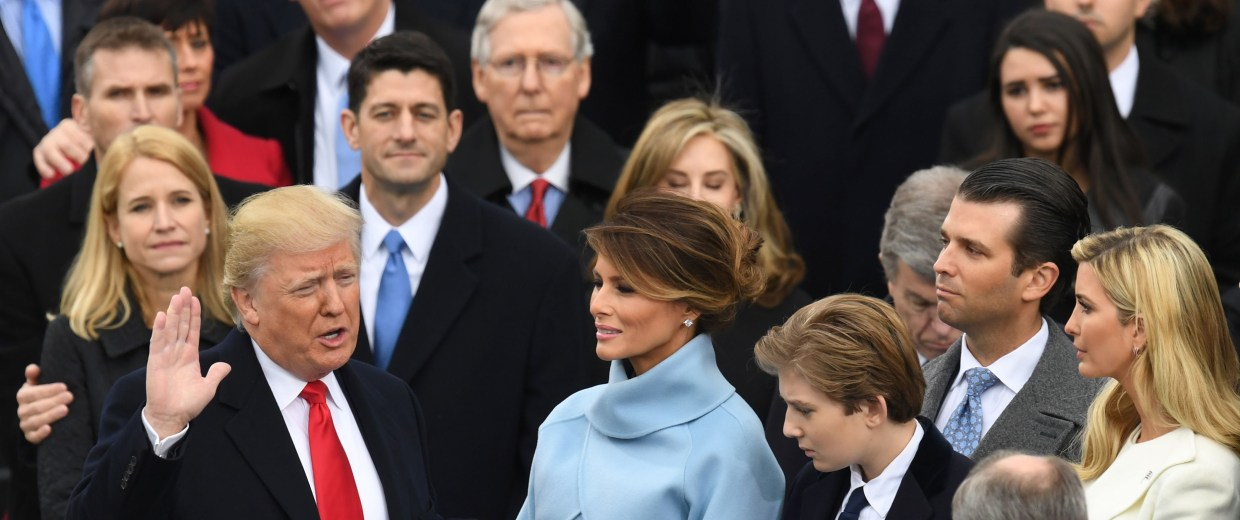 Image: President-elect Donald Trump is sworn in as president