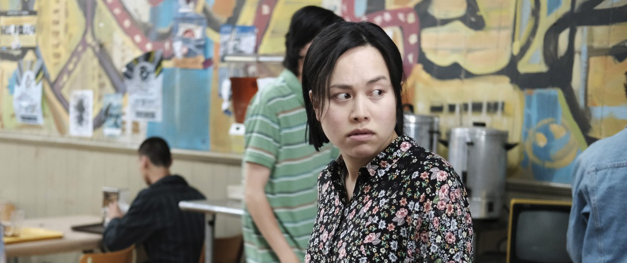 Image: Ivory Aquino in a scene from ABC's When We Rise