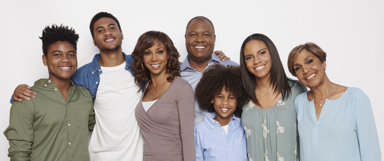IMAGE: Holly Robinson Peete's family