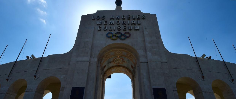 Image: The Los Angeles Memorial Coliseum