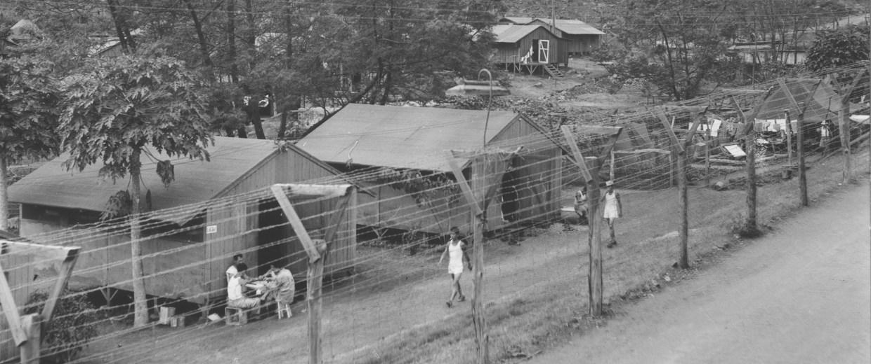 Image: Barracks at Honouliuli Internment Camp, circa 1945-46.
