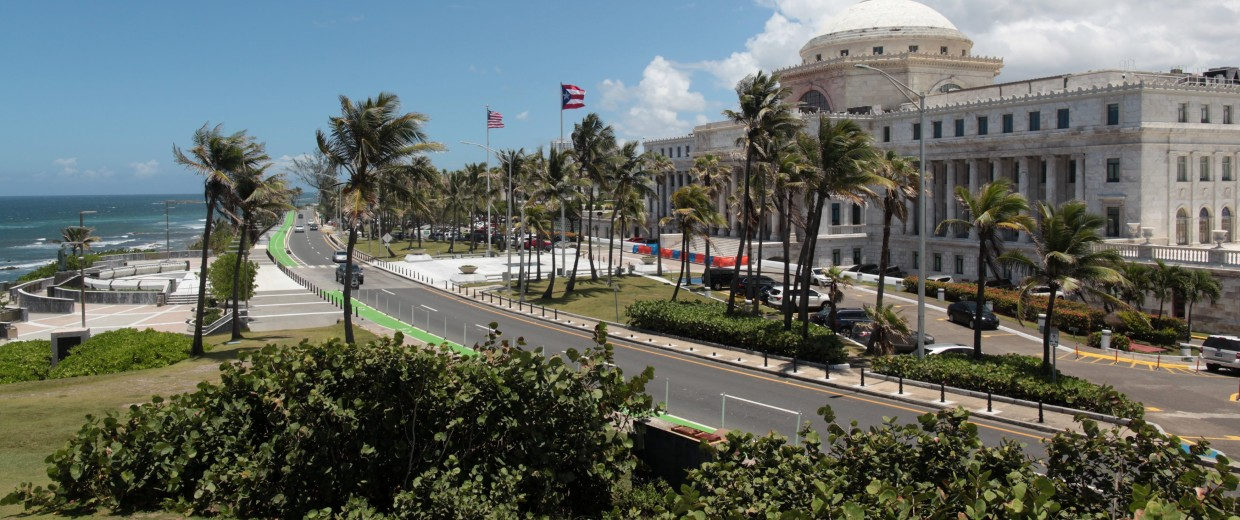 Image: The Capitol building is seen in San Juan