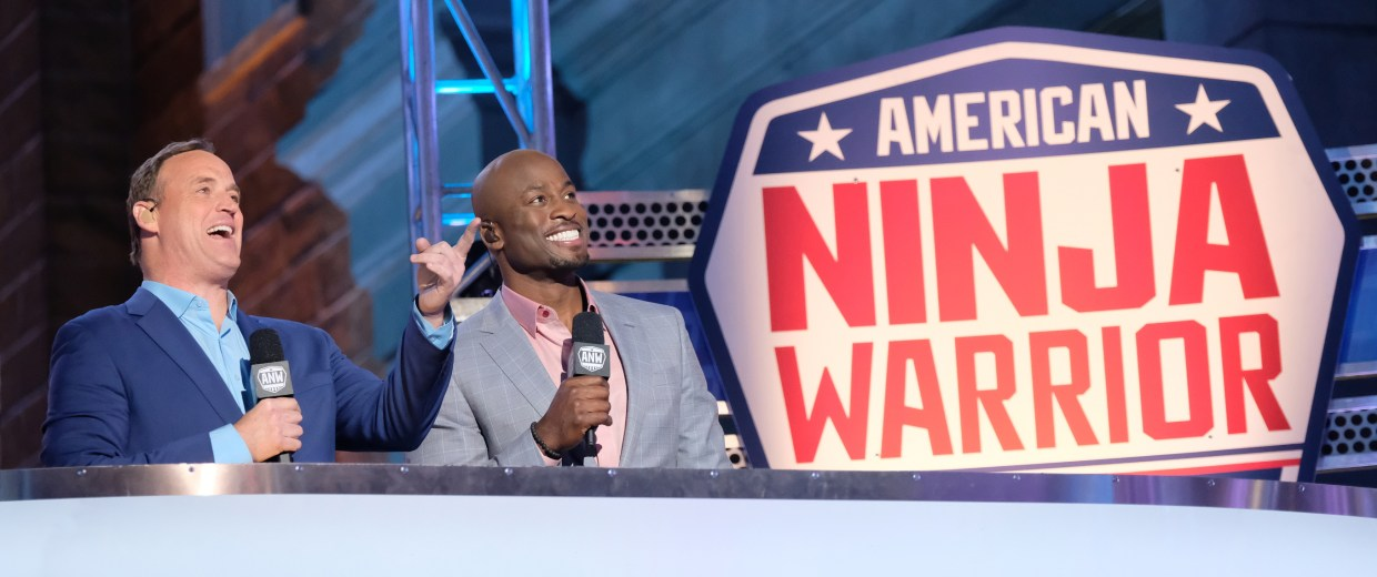 Image: Akbar Oluwakemi-Idowu Gbaja-Biamila on Season 9 of American Ninja Warrior