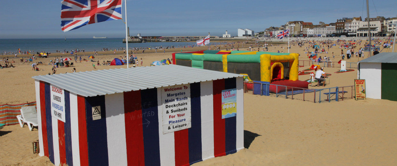 Image: Margate beach