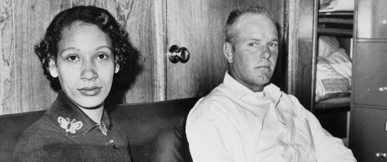 Image: Mildred Loving and her husband Richard Loving
