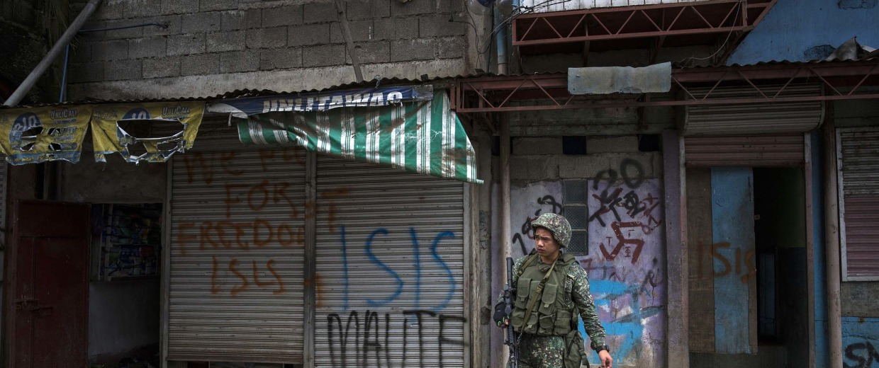 Image: Philippines Extends Martial Law in Mindanao