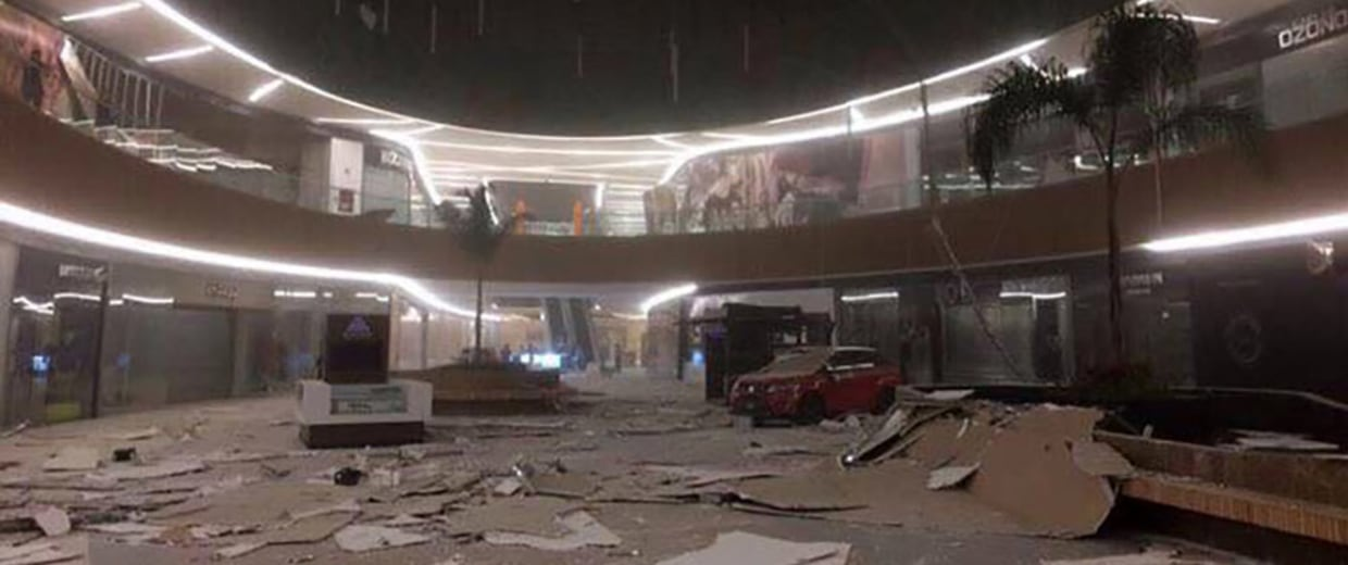 Image: Massive Earthquake Hits Southern Mexico