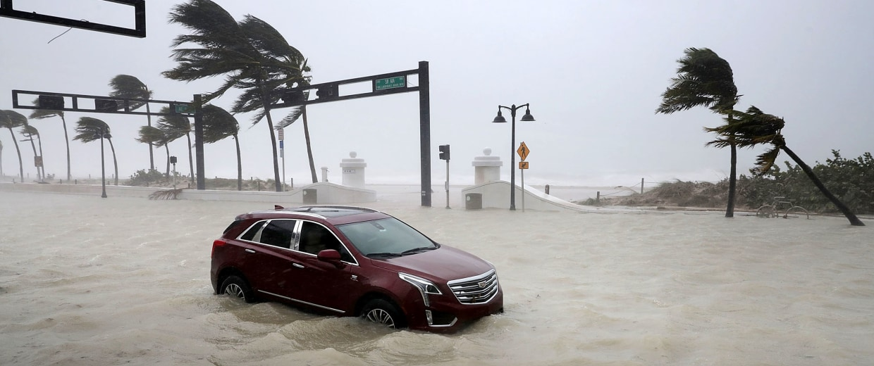 Image: Hurricane Irma Slams Into Florida