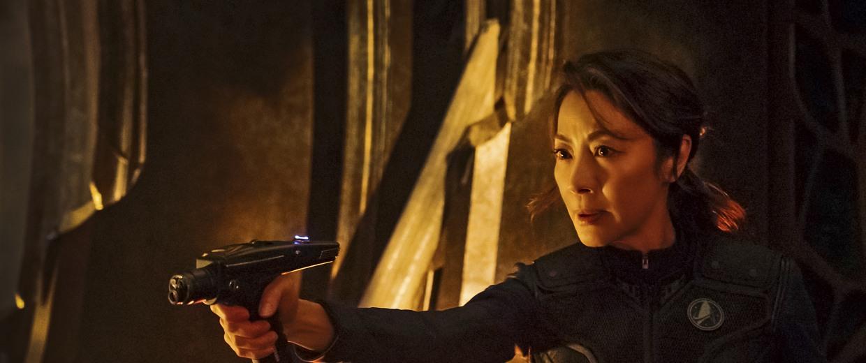 "Michelle Yeoh as Captain Philippa Georgiou in ""Star Trek: Discovery"""