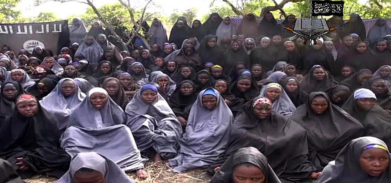Image: Boko Haram released a new video on claiming to show the missing Nigerian schoolgirls