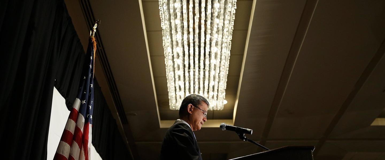 Image: U.S. Secretary of Veterans Affairs Eric Shinseki